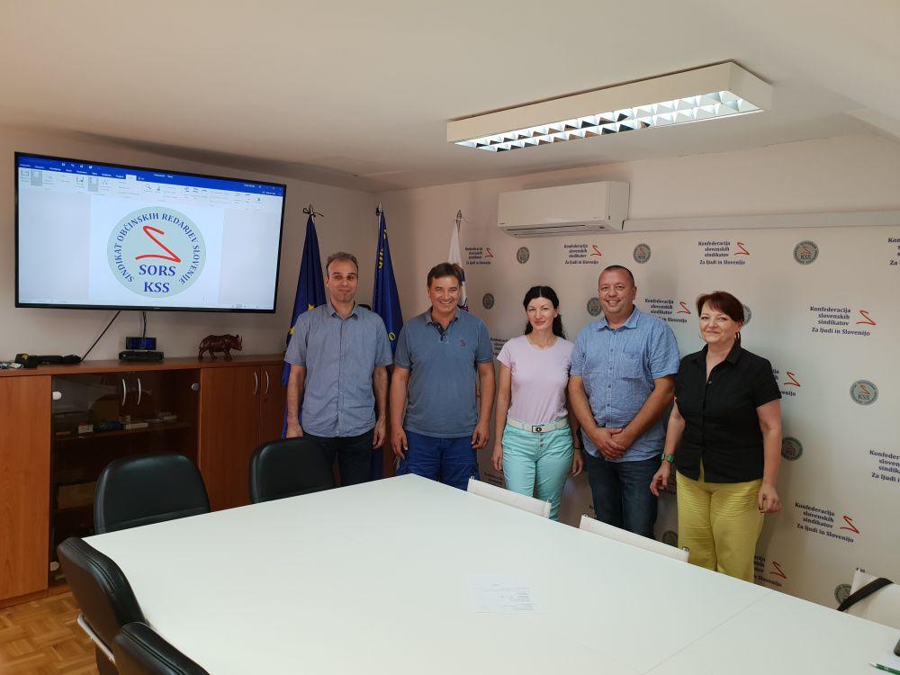 Matjaž Frangež - Gvido Novak - Andreja Meglič - Boris Fedran - Karmen Cesar